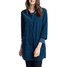 Buy Seasalt Watsonia Tunic Top, Vivid Indigo Online at johnlewis.com