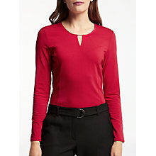 Buy Gerry Weber Long Sleeve T-Bar Jersey Top Online at johnlewis.com