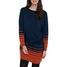 Buy Seasalt Raven Merino Wool Tunic Dress, Vista Cinnamon Online at johnlewis.com