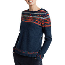 Buy Seasalt Endurance Jumper, Vantage Point Fathom Online at johnlewis.com