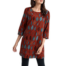 Buy Seasalt Boat Yard Tunic Dress, Pattern Lead Cinnamon Online at johnlewis.com