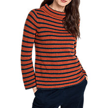 Buy Seasalt Gulf Jumper, Reef Fathom Cinnamon Online at johnlewis.com