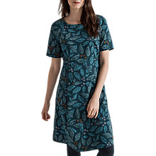 Buy Seasalt Nodding Heads Dress, Woodblock Leaf Pool Online at johnlewis.com