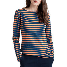 Buy Seasalt Sailor Jersey Top, Breton Night Anise Online at johnlewis.com