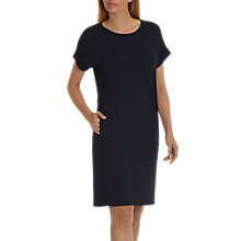 Buy Betty & Co. Short Sleeve Jersey Dress, Dark Sky Online at johnlewis.com