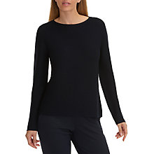 Buy Betty & Co. Ribbed Knit Jumper, Mood Blue Online at johnlewis.com
