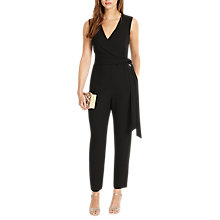 Buy Phase Eight Linda Jumpsuit, Black Online at johnlewis.com