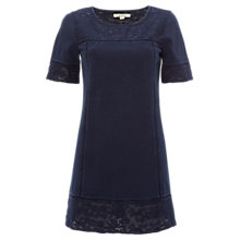 Buy White Stuff Denim Look Jersey Tunic, Blue Online at johnlewis.com