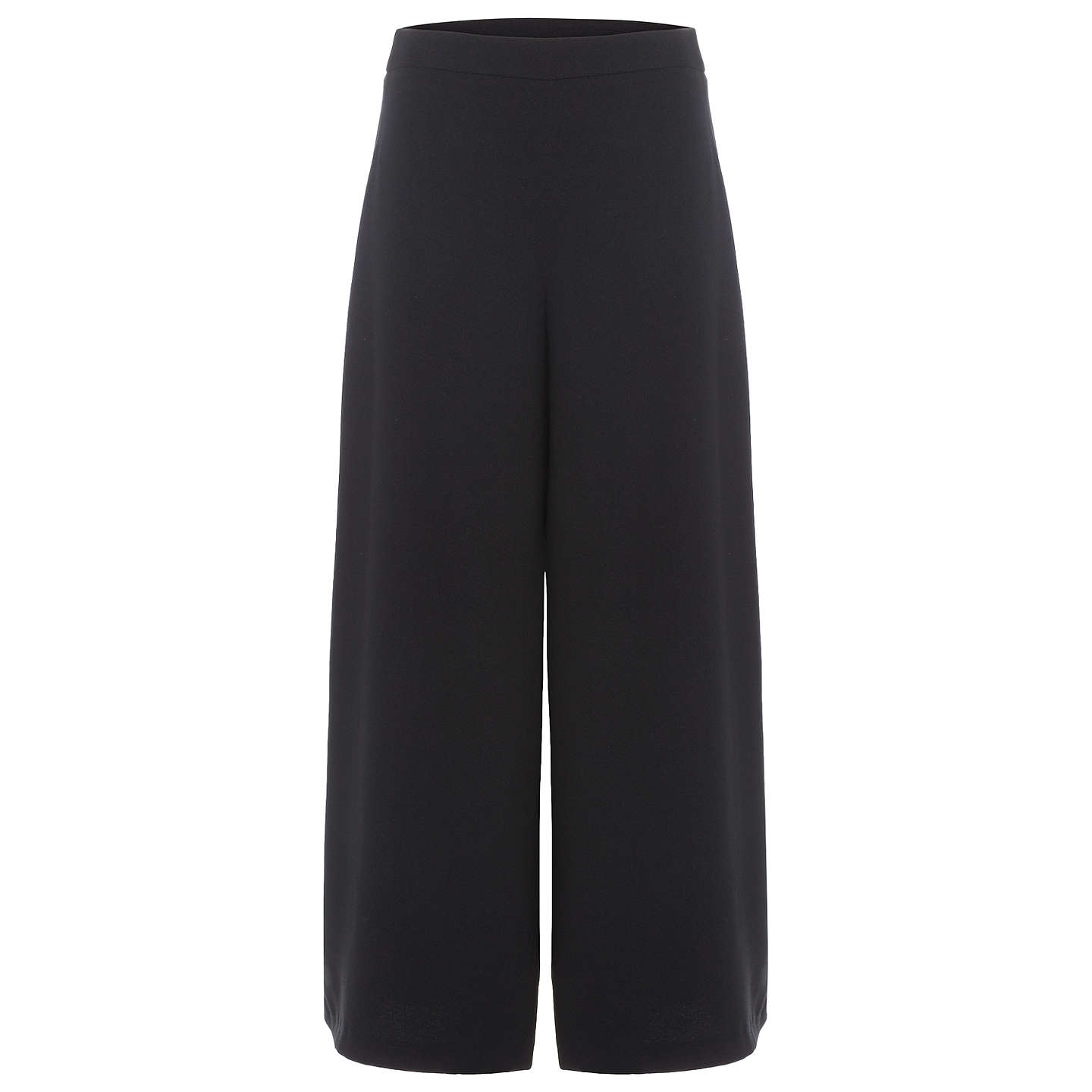 BuyPhase Eight Lavinia Wide Leg Trousers, Black, 8 Online at johnlewis.com