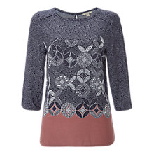Buy White Stuff Christie Top, Midnight Blue Online at johnlewis.com