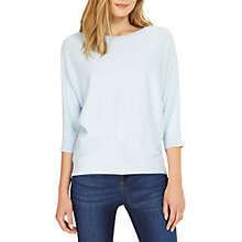 Buy Phase Eight Coloured Fleck Jumper, Soft Blue Online at johnlewis.com