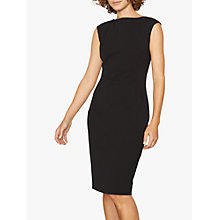 Buy Jigsaw Paris Fit Sleeveless Dress, Black Online at johnlewis.com