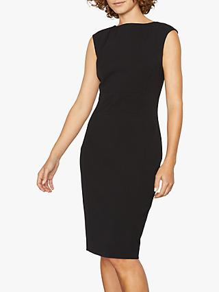 Jigsaw Paris Fit Sleeveless Dress, Black