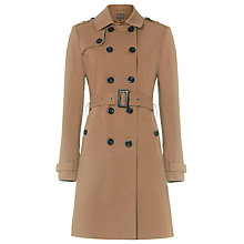 Buy Phase Eight Tabatha Trench Coat, Camel Online at johnlewis.com