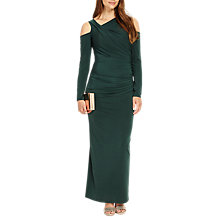 Buy Phase Eight Heather Drape Dress, Juniper Online at johnlewis.com