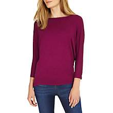 Buy Phase Eight Alexandria Top, Magenta Online at johnlewis.com