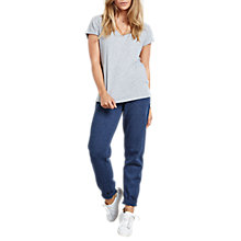 Buy hush Hayden Joggers, Indigo Marl Online at johnlewis.com