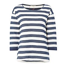 Buy White Stuff Autumn Breeze T-Shirt, Navy Online at johnlewis.com