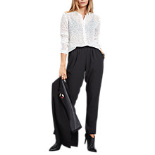 Buy hush Winona Trousers, Black Online at johnlewis.com