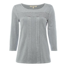 Buy White Stuff Greko Jersey T-Shirt, Silver Grey Online at johnlewis.com