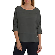 Buy Betty Barclay Crepe & Jersey Blouse, Magnet Online at johnlewis.com