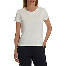 Buy Betty & Co. Embroidered Jersey Top, Snow White Online at johnlewis.com