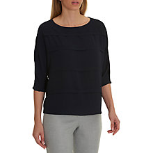 Buy Betty & Co. Crepe Jersey Blouse, Mood Blue Online at johnlewis.com