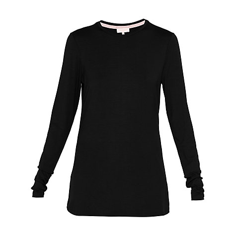 Buy Ted Baker Ted Says Relax Rojo Fitted Long Sleeve Top Online at johnlewis.com