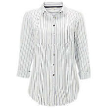 Buy White Stuff Chantilly Stripe Shirt, White Online at johnlewis.com