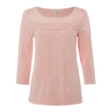 Buy White Stuff Greko Jersey T-Shirt, Dusty Pink Online at johnlewis.com