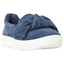 Buy Dune Ebow Slip On Trainers, Navy Online at johnlewis.com
