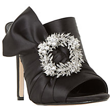 Buy Dune Maher Embellished Stiletto Heeled Mule Sandals, Black Online at johnlewis.com