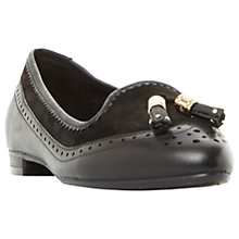Buy Dune Wide Fit Gambel Flat Tassel Loafers Online at johnlewis.com