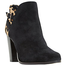 Buy Dune Oak Block Heeled Ankle Boots Online at johnlewis.com