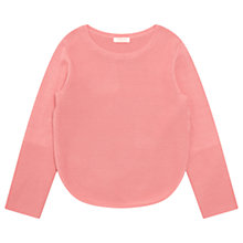 Buy Jigsaw Girls' Dropped Hem Sweatshirt Online at johnlewis.com