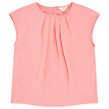 Buy Jigsaw Girls' Silky Front Top Online at johnlewis.com