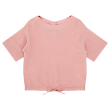 Buy Jigsaw Girls' Drawstring Jumper Online at johnlewis.com