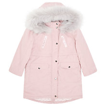 Buy Jigsaw Girls' Faux Fur Luxe Parka Jacket Online at johnlewis.com
