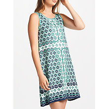 Buy Max Studio Sleeveless Printed Dress, Blue Online at johnlewis.com