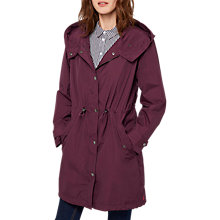 Buy Joules Right as Rain Swithin Waterproof Parka, Burgundy Online at johnlewis.com