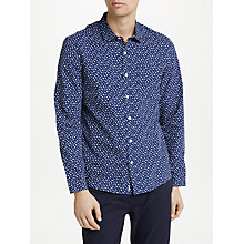 Buy Kin by John Lewis Confetti Print Shirt, Navy Online at johnlewis.com