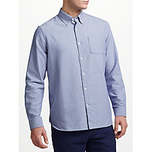 Buy John Lewis Oxford Shirt, Blue Online at johnlewis.com