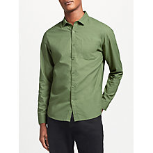 Buy Kin by John Lewis Oxford Shirt, Khaki Online at johnlewis.com