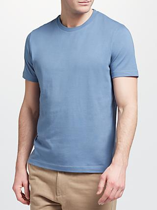 John Lewis & Partners Basic Cotton Crew Neck T-Shirt