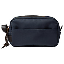 Buy Filson Twill Travel Kit Wash Bag Online at johnlewis.com