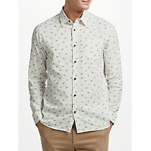 Buy John Lewis Bicycle Print Shirt, Ecru Online at johnlewis.com