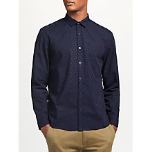Buy Kin by John Lewis Chambray Dobby Shirt, Navy Online at johnlewis.com