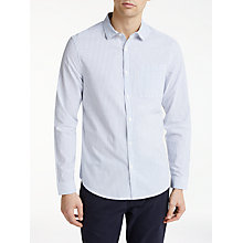 Buy Kin by John Lewis Stripe Slim Fit Shirt, White/Blue Online at johnlewis.com