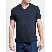 Buy John Lewis Basic Cotton V-Neck T-Shirt Online at johnlewis.com