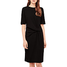Buy Gerard Darel Nathan Ruched Waist Pencil Dress, Black Online at johnlewis.com